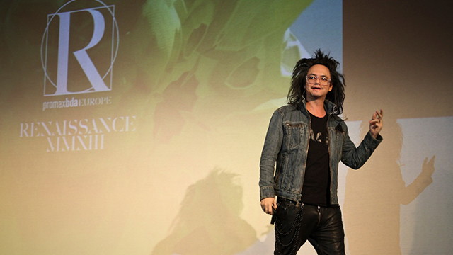 David Shing on stage