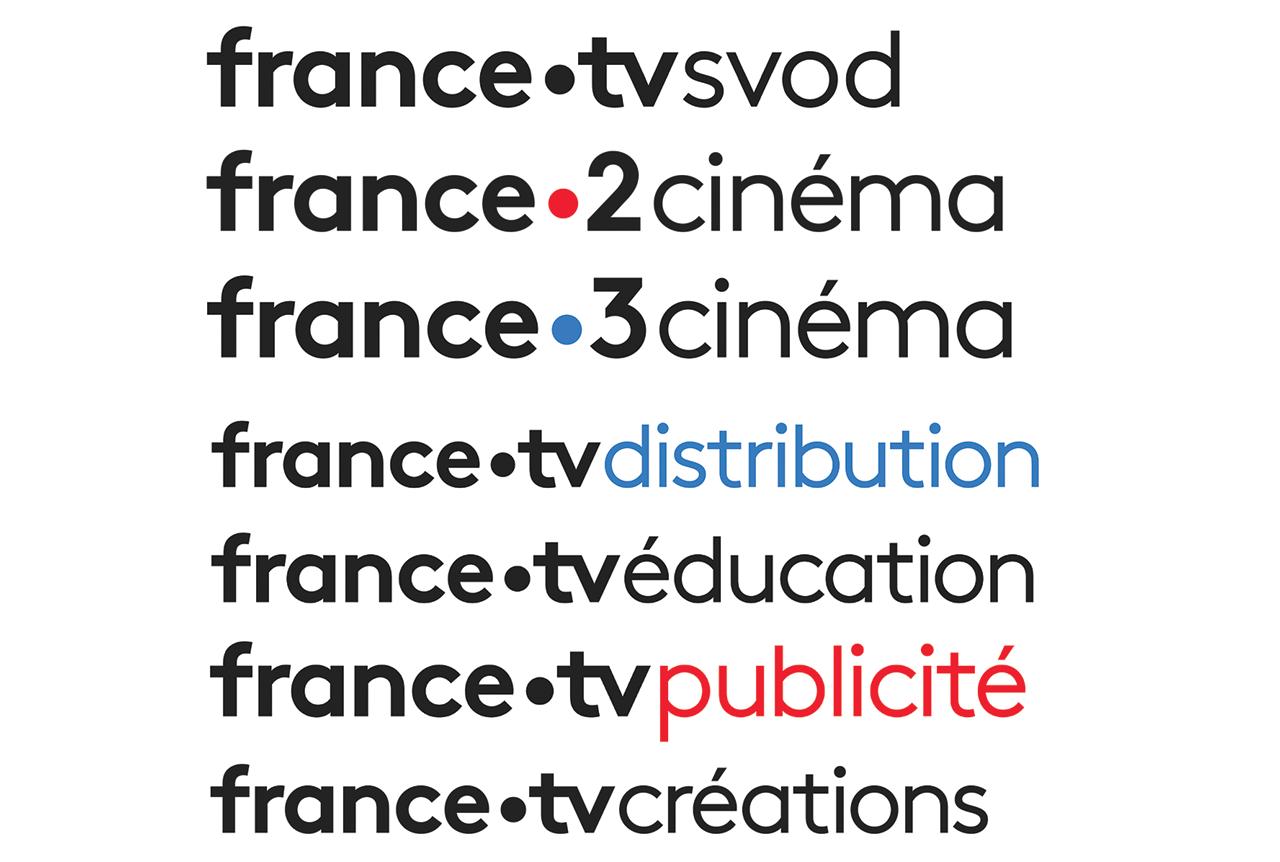 De nouveaux visuels pour France Télévisions. Un point, c'est tout